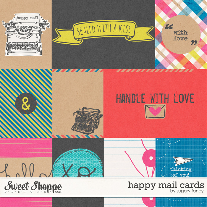 Happy Mail Cards by Sugary Fancy