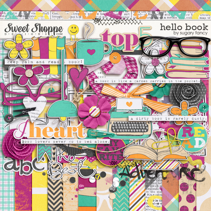 Hello Book by Sugary Fancy