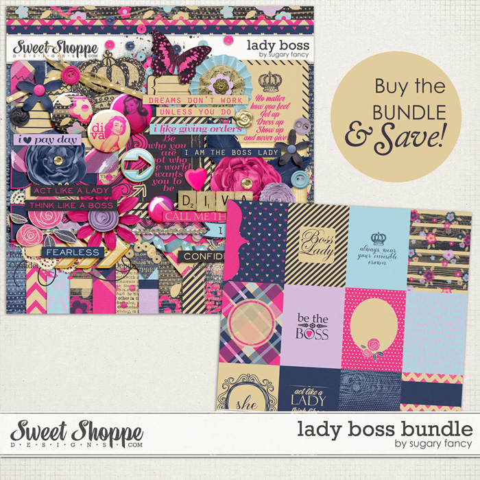 Lady Boss Bundle by Sugary Fancy