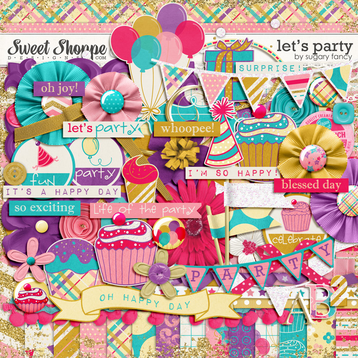 Let's Party by Sugary Fancy