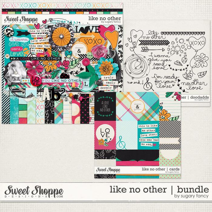 Like no Other Bundle by Sugary Fancy