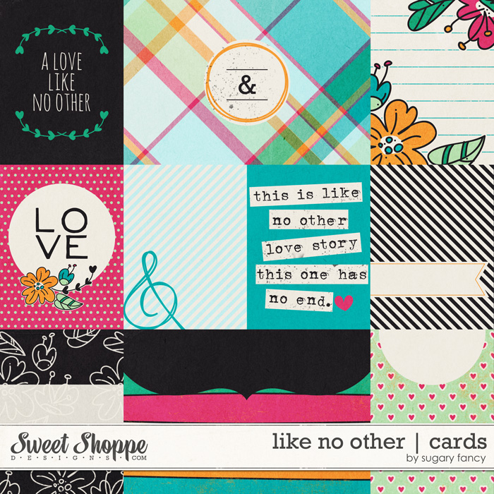 Like no Other Cards by Sugary Fancy