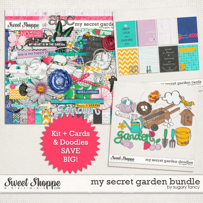 My Secret Garden Bundle by Sugary Fancy