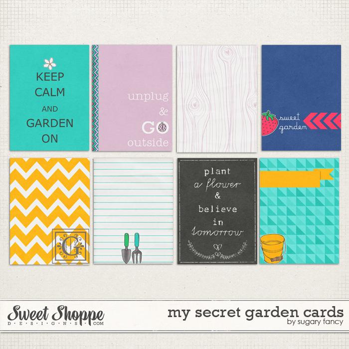 My Secret Garden Cards by Sugary Fancy