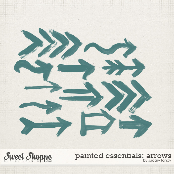 Painted Essentials: Arrows by Sugary Fancy