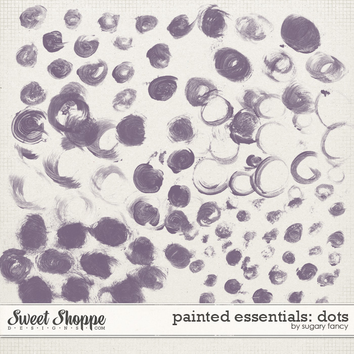 Painted Essentials: Dots by Sugary Fancy