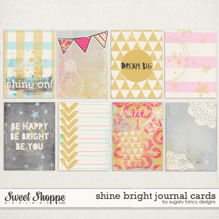 Shine Bright Cards by Sugary Fancy