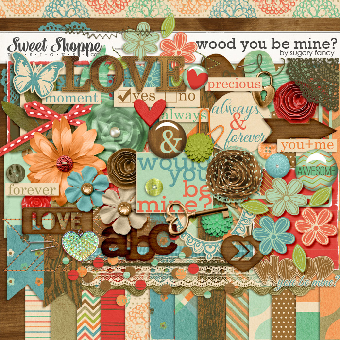 Wood you be mine? by Sugary Fancy