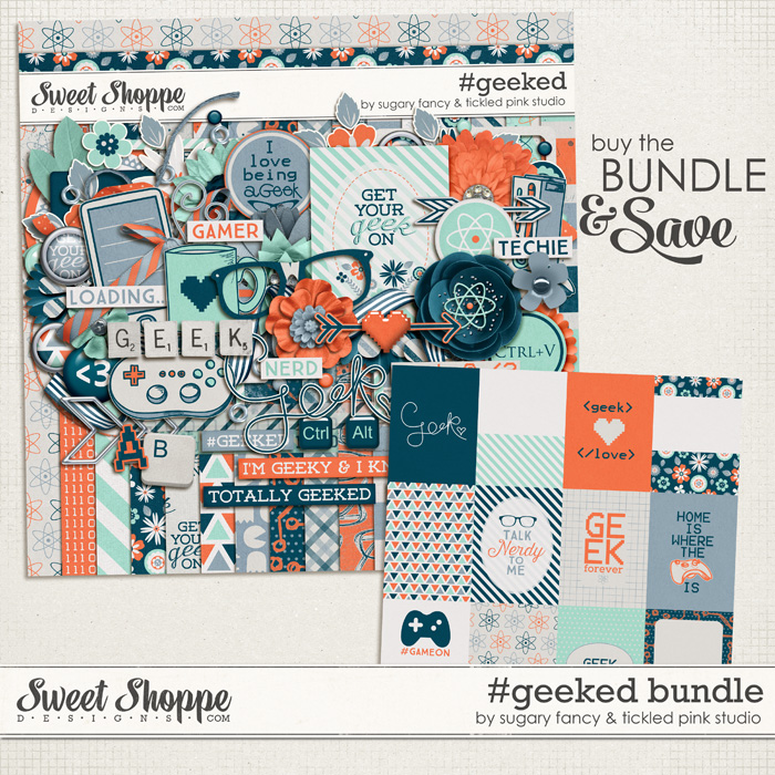 #geeked Bundle by Sugary Fancy & Tickled Pink Studio