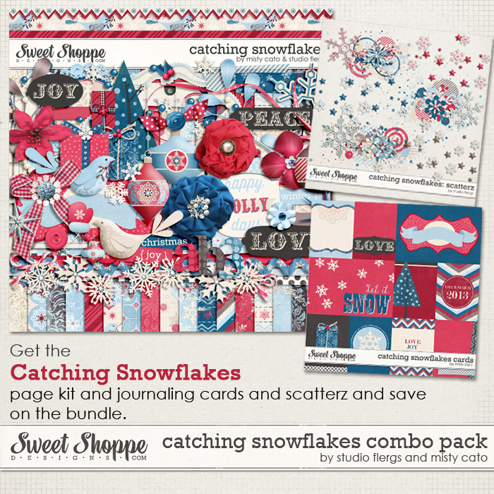 Catching Snowflakes Combo Pack by Studio Flergs and Misty Cato