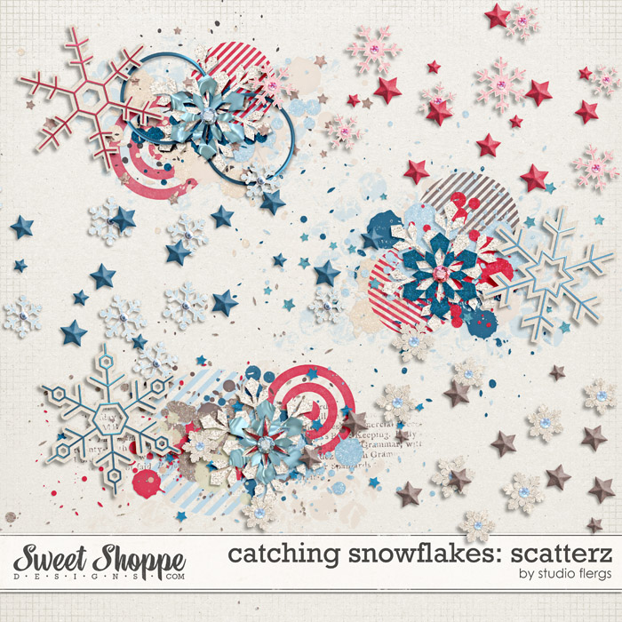 Catching Snowflakes Scatterz by Studio Flergs and Misty Cato