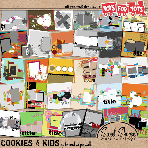 **Cookies 4 Kids** by Sweet Shoppe Designs