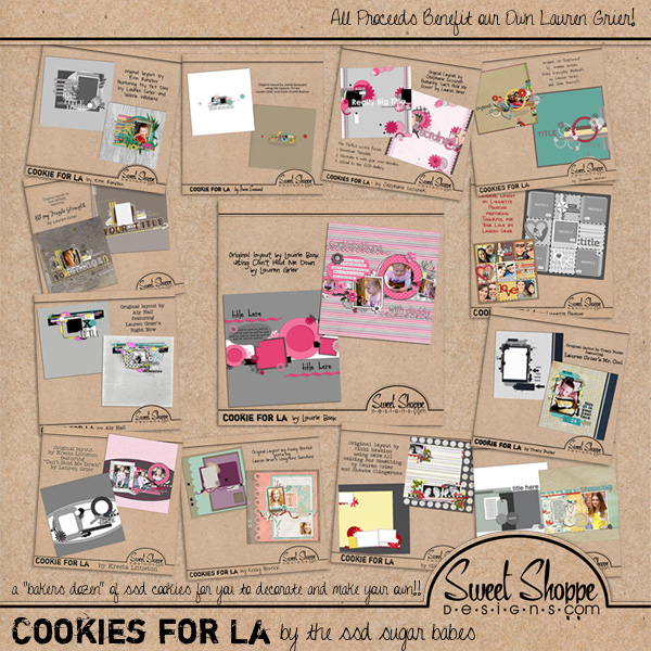 *FUNDRAISER* Cookies For La by the Sweet Shoppe Sugar Babes!