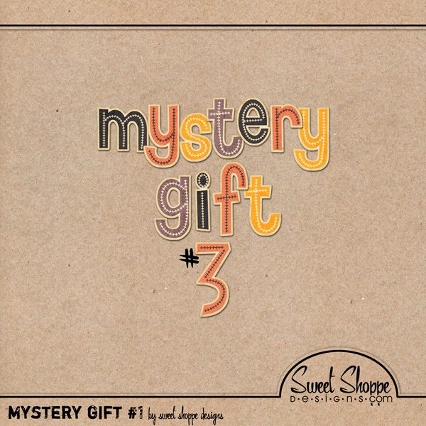 *LIMITED EDITION* October Mystery Gift #3