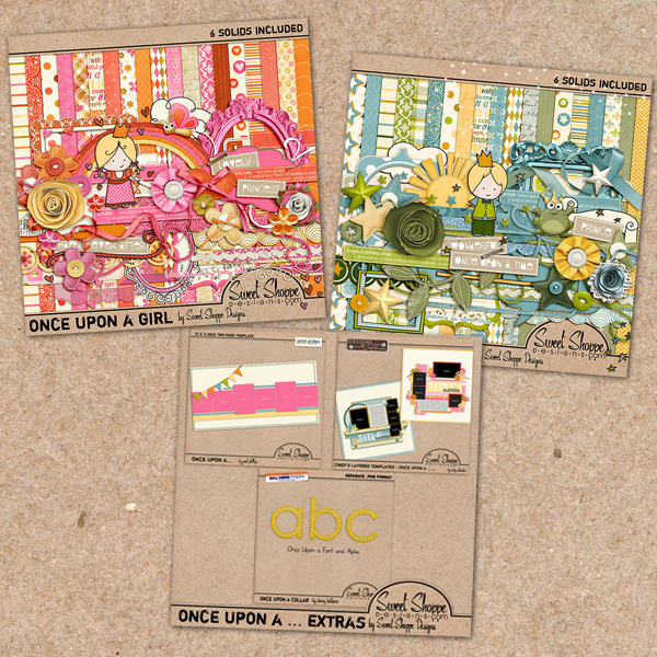 *Limited Edition* Once Upon A Collab by Sweet Shoppe Designs