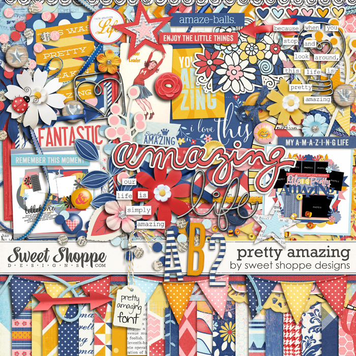 *FLASHBACK FINALE* Pretty Amazing by Sweet Shoppe Designs