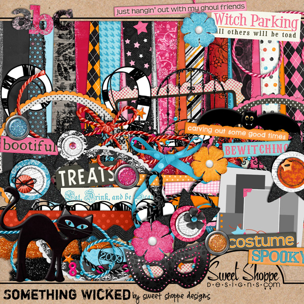 *Limited Edition* Something Wicked by Sweet Shoppe Designs