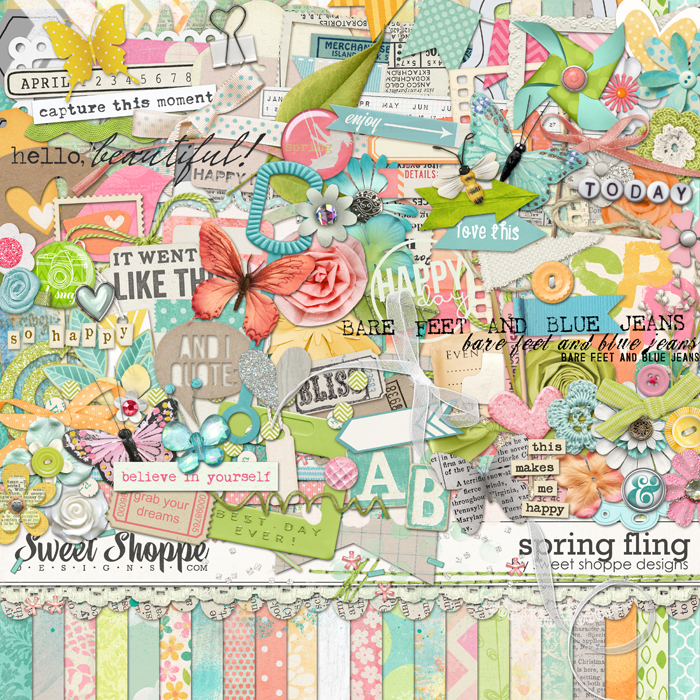 *FLASHBACK FINALE* Spring Fling by Sweet Shoppe Designs
