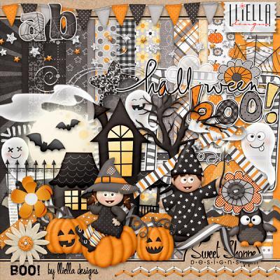 Boo! by lliella designs