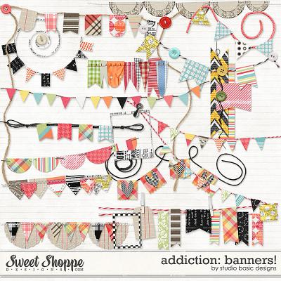 Addiction: Banners! by Studio Basic
