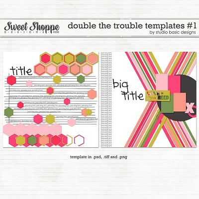 Double The Trouble Templates #1 by Studio Basic