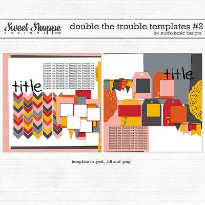 Double The Trouble Templates #2 by Studio Basic