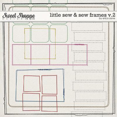 Little Sew & Sew Frames v.2 by Erica Zane