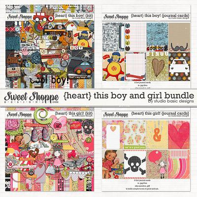 {heart} This Boy And Girl! Bundle by Studio Basic