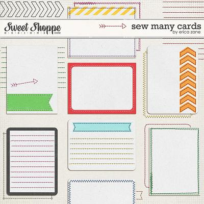 Sew Many Cards by Erica Zane