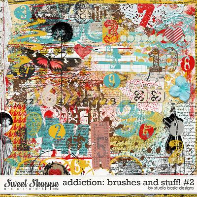 Addiction: Brushes And Stuff! #2 by Studio Basic