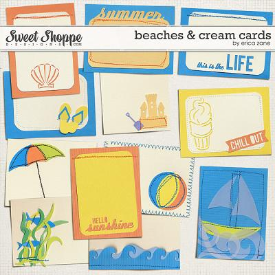 Beaches & Cream Cards by Erica Zane