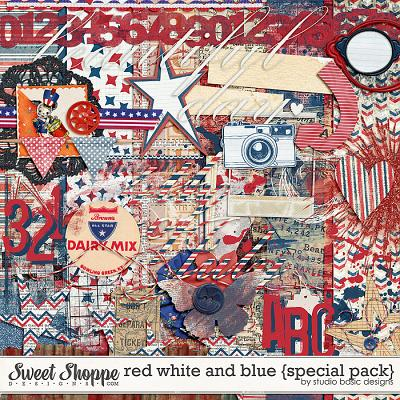 Red White And Blue {special pack} by Studio Basic