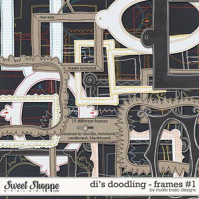 Di's Doodling - Frames #1 by Studio Basic