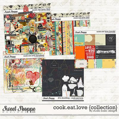 Cook.Eat.Love {collection} by Studio Basic