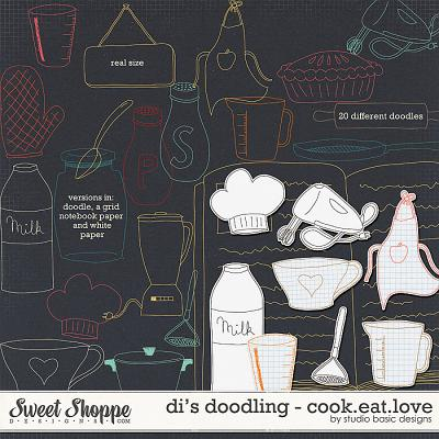 Di's Doodling - Cook.Eat.Love by Studio Basic