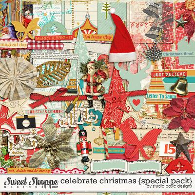 Celebrate Christmas {special pack} by Studio Basic