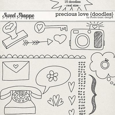 Precious Love {doodles} by Studio Basic