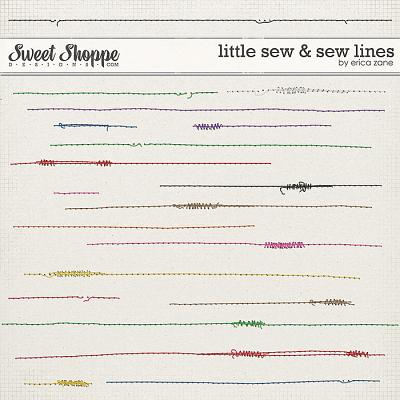 Little Sew & Sew Lines by Erica Zane