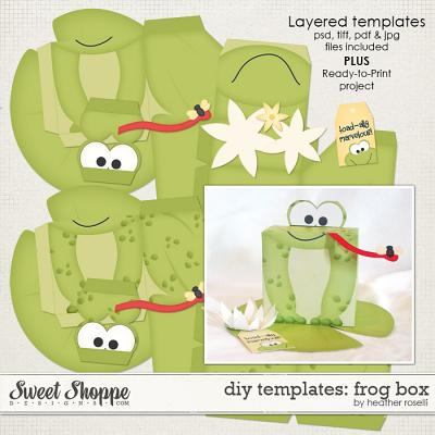 DIY Templates: Frog Box by Heather Roselli