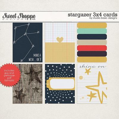 Stargazer 3x4 Cards by Studio Basic