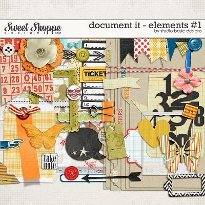 Document It - Elements #1 by Studio Basic