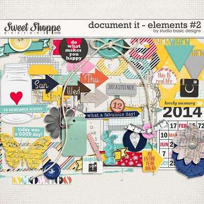 Document It - Elements #2 by Studio Basic