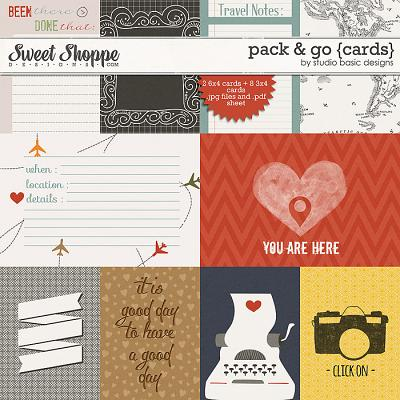 Pack & Go Cards by Studio Basic