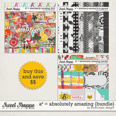 A² = Absolutely Amazing {bundle} by Studio Basic
