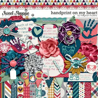 Handprint On My Heart by Meghan Mullens