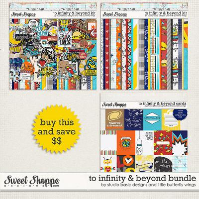 To Infinity & Beyond Bundle by Studio Basic and Little Butterfly Wings
