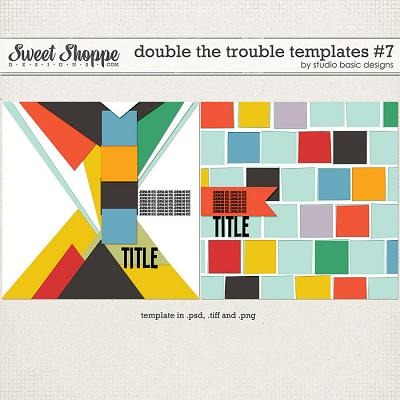 Double The Trouble Templates #7 by Studio Basic