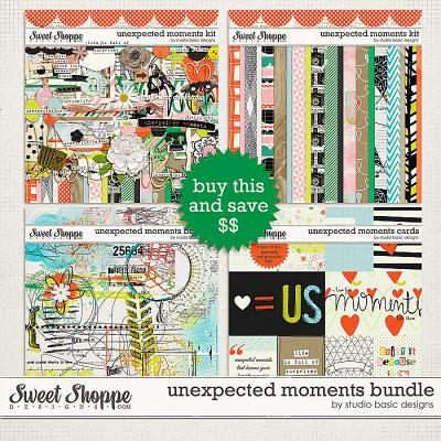 Unexpected Moments Bundle by Studio Basic