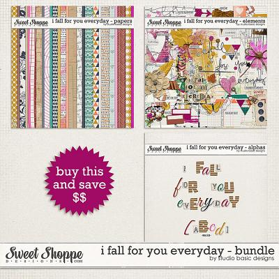 I Fall For You Everyday Bundle by Studio Basic