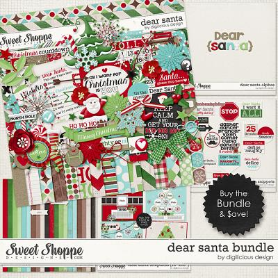 Dear Santa Bundle by Digilicious Design